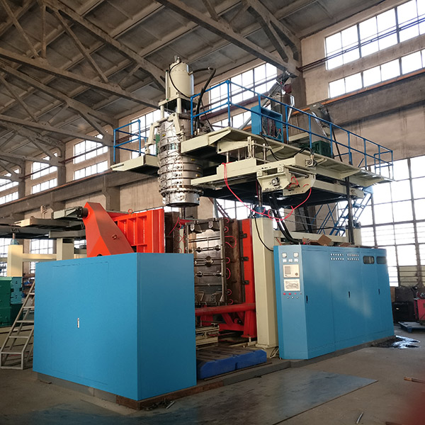 Factory Promotional 2-cavity Automatic 200 Litre Plastic Drum Blow Molding Machine -