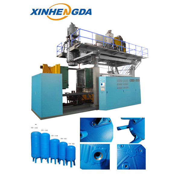 China Gold Supplier for Big Plastic Blow Molding Machine -