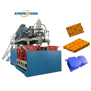float blow molding machine