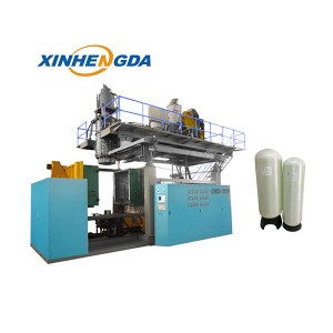 water treatment tank blow molding machine