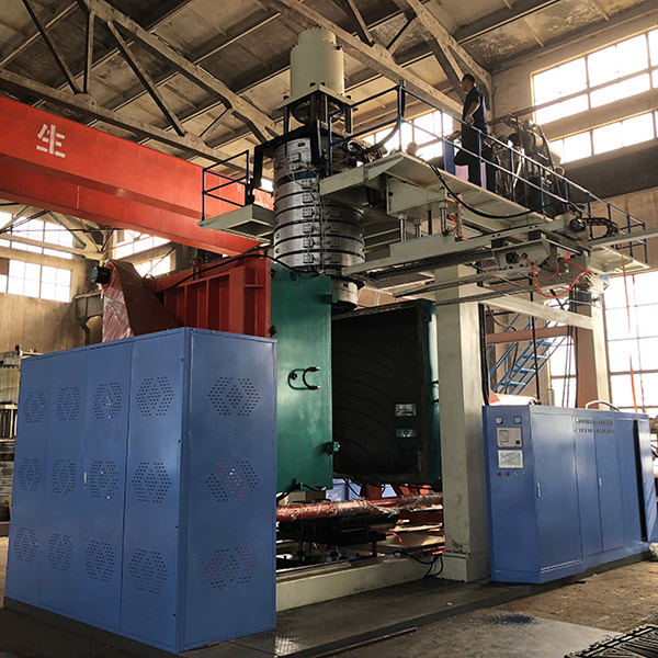 New Delivery for Hdpe Type Chemical Drum Blow Molding Machine -